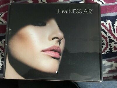 Luminess Air Legend Airbrush Cosmetics Makeup System Gold/Black LC-400RGT Sealed