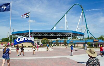 (4) Four Tickets to Carowinds / E-Tickets / Low Price