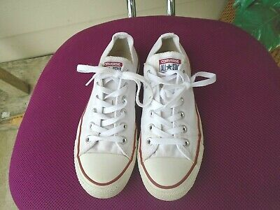 81007c55a50adc CONVERSE CHUCK TAYLOR 70 Ox Size 8.5 Optical White Red Blue 1970 All ...