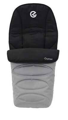 Babystyle Oyster 1,2 Or Max Grey Cosytoes Footmuff