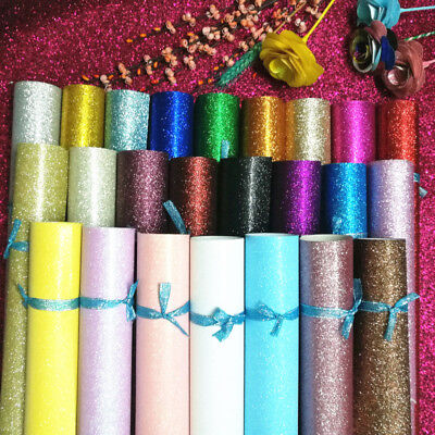 Luxurious Glitter Wrapping Paper Wedding Christmas Metallic Gift Wrap 4/9m Roll