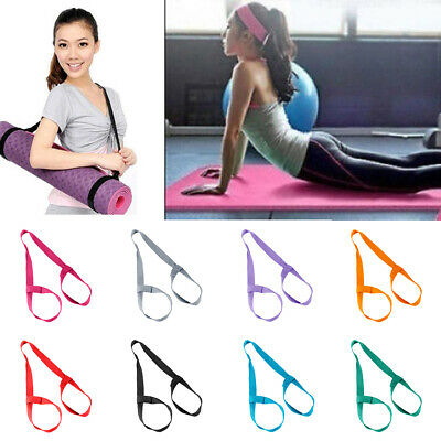 Yoga Mat Carry Strap Portable Shoulder Sling Exercise Fitness Colorful Surprise