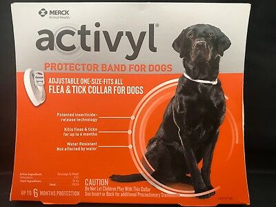 Activyl Flea & Tick Collar for Dogs Protects up to 6 Months
