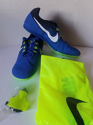 new style f7ba7 e00a5 NEW w pins bag Nike Zoom Rival M 8 Track Spikes Men Sz 11.5