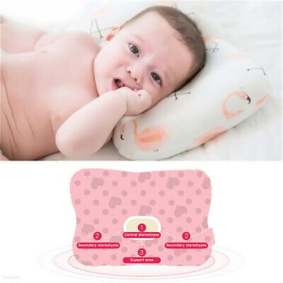 Baby Infant Newborn Prevent Flat Head Neck Syndrome Support Square Pillow 77