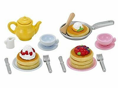 EPOCH Sylvanian Families Furniture Fluffy Pancake Set Japan* from from JAPAN