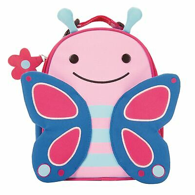 Skip Hop Zoo Lunchies Insulated Kids / Child Travel / School Lunch Bag Butterfly