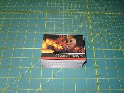 Game Of Thrones Season 4 Trading Cards - #100 Card Base Set