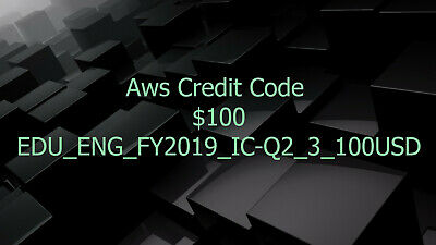 Aws Credits $100 Aws Promo Code Q2 RDS Aws Credit EC2 Aws Codes SQS New Event