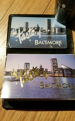 "Coupons--appx 75--""TASTE OF BALTIMORE "";Vintage;Collectable;Great Reference"