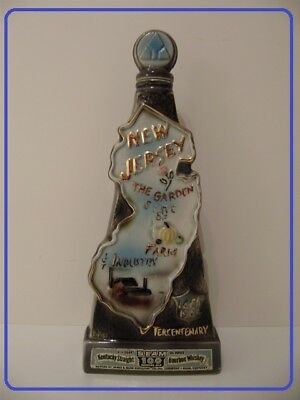 "Regal China JAMES BEAM bottle for the ""TERCENTENARY 1664-1964"" Kentucky Bourbon"