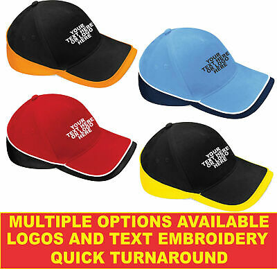 Personalised Embroidered B171 Teamwear Competition Highest Quality Workwear Cap