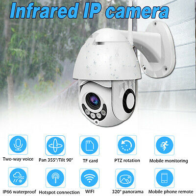 320° Panorama Telecamera Ip Camera Wireless 5X Zoom 1080P Hd Ip66 Impermeabile