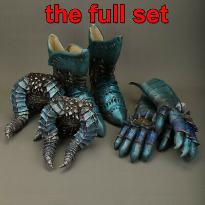 Devil V Dante May Cosplay Props Cry 5 Balrog Gloves Feet Weapon Latex Halloween