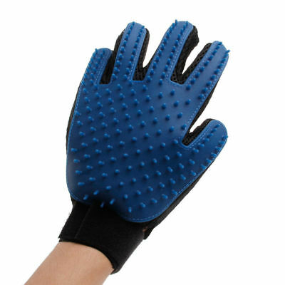 Pet Grooming Glove Gentle Deshedding Brush Glove Pet Cat &Dog Hair Remover Mitt