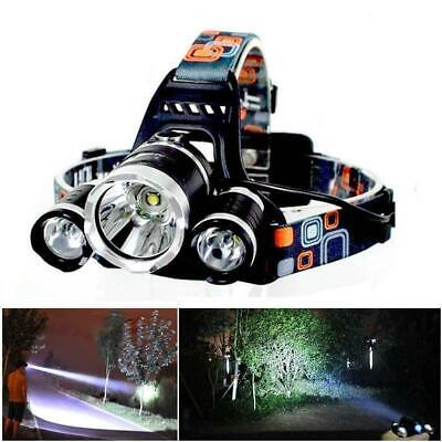 90000LM Rechargeable T6+ XPE LED Headlamp Head light Flashlight Torch Camping