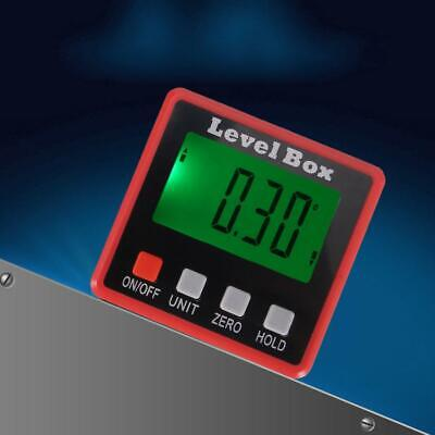 LCD Digital Display Protractor Gauge Level Angle Finder Inclinometer Magnet Base