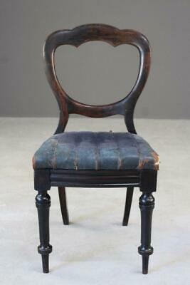Single Antique Victorian Dining Chair