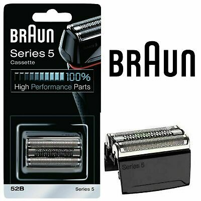 Braun 52B Series 5 Shaver Foil Cutter Head Cassette for 5020 5030 5040 5070 5090