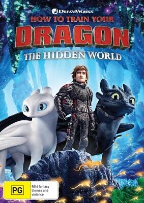 How To Train Your Dragon: The Hidden World (DVD, 2019) New Sealed Region 4
