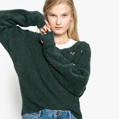 La Redoute Collections Womens Bee Jewel Jumper/Sweater
