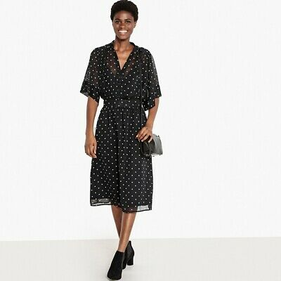 La Redoute Collections Womens Polka Dot Shirt Dress