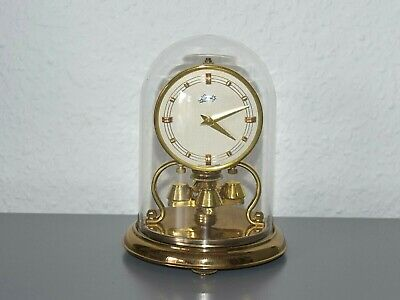 SCHATZ vintage clock. Made in Germany. Brass