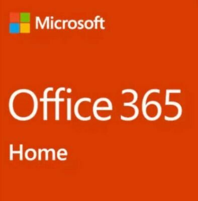 Microsoft Office Home 365   6 Users   1 Year Subscription