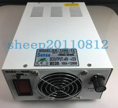 NEW 3000W 0-24VDC 120A Output Adjustable Switching Power Supply with