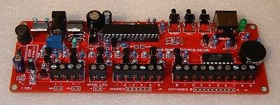 Remote Tube Nixie Clock Kit. For Artists and Designers