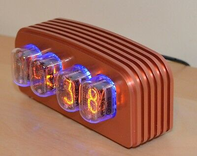 IN-12 Nixie Clock Kit with Various Case Options