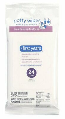 The First Years At Home & On The Go Clean Childrens Potty Wipes