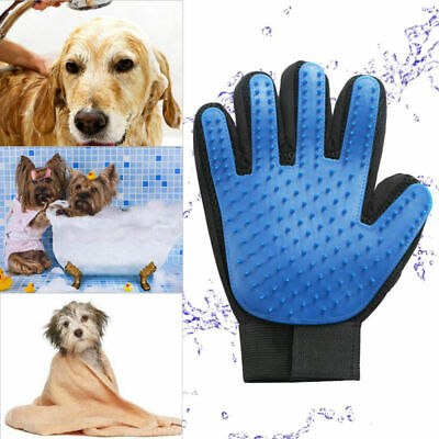 Cleaning Brush Magic Glove Pet Dog Cat Massage Hair Removal Grooming Groomer CN