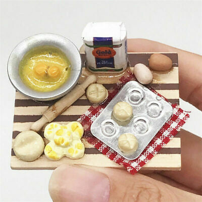 1:12 Scale Dollhouse Mini Kitchen Accessories Cooking Dish Furniture Kids Toy CN