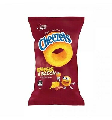 Cheezels Cheese & Bacon 90g x 12