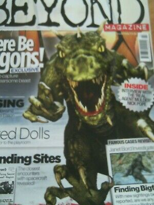Beyond Magazine. Issue 3. Haunted Dolls, Dowsing, Ufos, Bigfoot, Dragons.