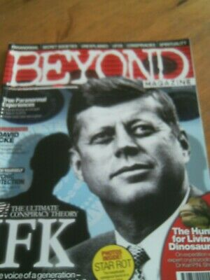 Beyond Magazine. Issue 7. Jfk, Living Dinosaurs, Paranormal Experiences.