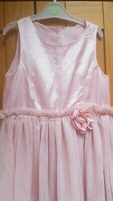 Girls H&M stunning Pink Party dress age 9-10 years, fantastic condition!
