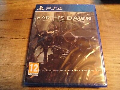 Earth's Dawn jeu PS4 Playstation neuf sous blister