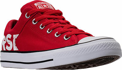 b99a25477b4 Authentique Converse Chuck Taylor All-Star Toile Workmark Rouge Blanc Noir
