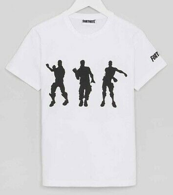 Boys Kids Official Fortnite Floss T-Shirt Top Ages 11-12 and 13-14 New With Tag