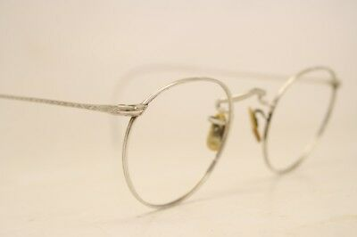 American Optical Ful-Vue Silver Tone Vintage Eyeglasses Antique Frames