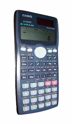 Casio FX-115MS Scientific Calculator - 300 Functions and 2 Line Display