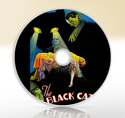 The Black Cat (1934) DVD Classic Horror Movie / Film Bela Lugosi Boris Karloff