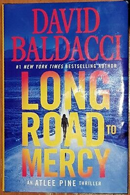 Long Road to Mercy (An Atlee Pine Thriller) Hardcover, mystery, David Baldacci