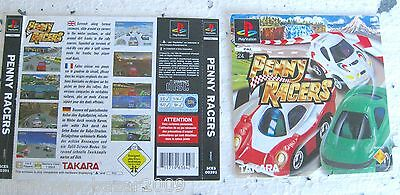 Penny Racers (1996) Playstation 1 Cover, No Disco No Box