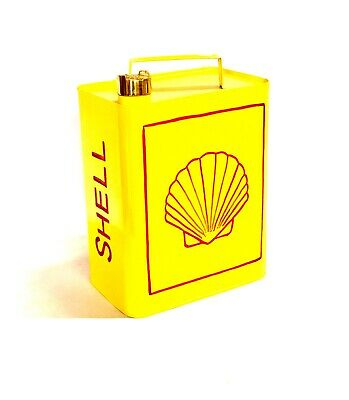 Shell Oil Logo - Vintage Decorative Petrol Fuel Jerry Can