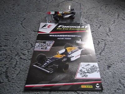 Panini 1/43 Scale Formula 1/F1 The Car Collection Die Cast Car & Magazine