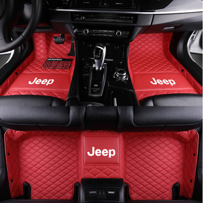 Luxury Custom Car Floor Mats For Jeep Grand Cherokee Sport Utility 2019-2007