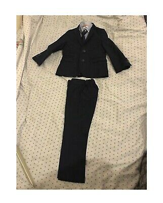 Boys 5 Piece Navy Suit From Next 4-5 Years